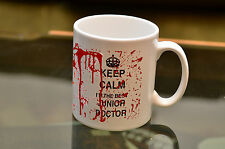 KEEP Calm Best Junior Doctor Novelty Bloody Mug funny gift printed coffee tea