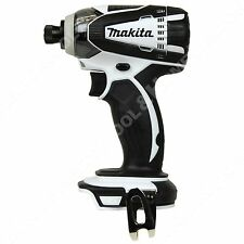 "Makita XDT04 18V Li-Ion 1/4"" Black White Impact Driver New replace LXDT04 BTD142"