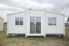 TRANSPORTABLE EXPANDA CABIN 11.8m x 6.56,3 BR WITH EN SUITE BATHROOM AND KITCHEN