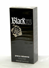 Paco Rabanne Black XS 3.4oz 100ml Men Eau de Toilette 100%Original* Sealed* NIB