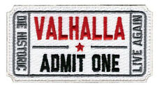 VALHALLA  Ticket Moral Tactical ARMY Patch     S+K   532