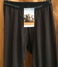 ICEBREAKER Mens Apex Leggings w/ Fly Walnut 100% Merino Wool Bodyfit Size XL NWT