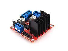 acc-170  Dual H Bridge DC Stepper Motor Drive Controller Board Module L298N