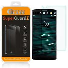 SuperGuardZ Tempered Glass Screen Protector Shield Cover Armor Saver for LG V10