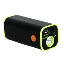 Newest Mobile Power Bank Charging USB Flashlight Torch LED 4x 18650 Battery Box
