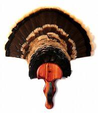 AROMATIC CEDAR Turkey Fan Plaque MOUNTING KIT (Model: The Gobbler) Turkey Mount