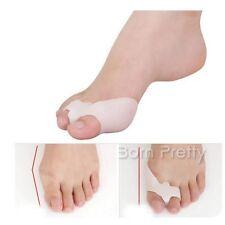 1Pair Soft Gel Silicone Toe Hallux Valgus Separators Straighteners Bunion Relief