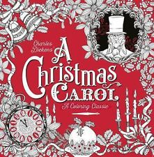 A Christmas Carol: A Coloring Classic, Dickens, Charles, New Book