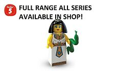 Lego minifigures egyptian queen series 5 (8805) new factory sealed