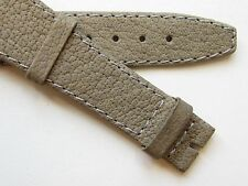 Buffalo leather liver swiss rendez vous watch band ~ 19 mm