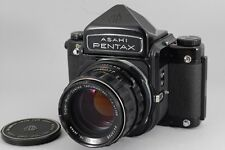 【EXC++++】 Pentax 6x7 67 Eye level w/ SMC T 105mm F2.4 Lens, from JAPAN