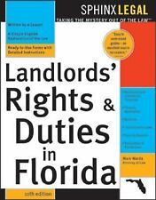 Legal Survival Guides: Landlords' Rights and Duties in Florida by Mark Warda...
