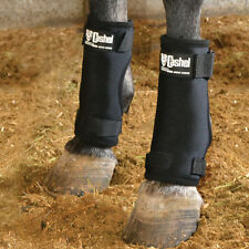 CASHEL Stall Sore Boots - prevent sores, faster healing NEW BLACK Horse fetlock
