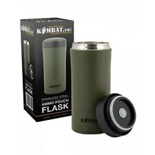 Kombat GREEN Military PLCE Ammo Pouch Thermal Army Mug/Thermos Drinks Flask NEW