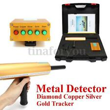 5pcs/set Long Range Underground Metal Detector Diamond Copper Tracker w/ Case