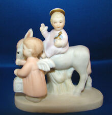 Mary and Joseph Flight to Egypt Lefton China The Christopher Collection @6