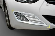 Gen Chrome Fog Light Cover Molding Trim K020 for Hyundai Elantra 2011 - 2013