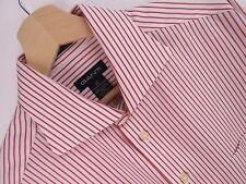 M517 Gant Shirt Top Original Premium Dress de Superdry de Doble Puño A Rayas Talla 16 1/2
