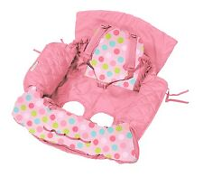 Shopping Trolley Cover and High chair cover (2in1) Genuine - Pink Butterfly