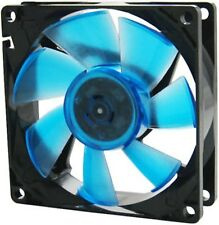 Gelid Solutions Wing 8 UV Blue 80mm x 25mm 8cm Case Fan + Resistor Cable