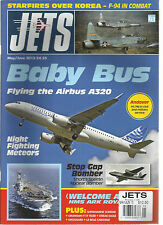 JETS MAGAZINE,  MAY / JUNE, 2015   BABY BUS FLYING THE AIRBUS  A320  PRINTED UK