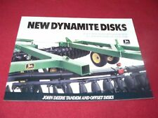 John Deere 600 Series Disks Dealer's Brochure DKA7 88-12