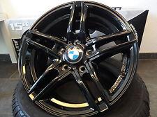 4X BORBET XR 7X16 ET31 SCHWARZ BLACK GLOSSY 1er BMW E81 E87 F20 F21 E88 E82