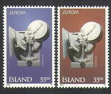 Iceland 1995 Europa/Peace/Freedom/Art/Sculpture/Statue 2v set (n36283)