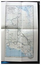 1927 Nesham - YUKON-ALASKA BOUNDARY - Remote Eskimos - WITH COLOR MAP - 1