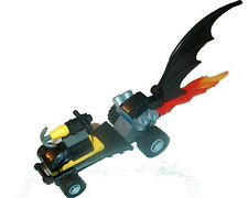 BATMAN Lego 7884 Batman Buggy/Dragster only NEW (No box or figure) Genuine Lego