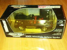 American Muscle ERTL Collectibles Rare 2001 Mitsubishi Eclipse Spyder 3g 1/18