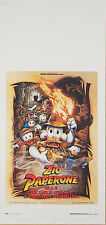 LOCANDINA, ZIO PAPERONE DuckTales: The Movie - Treasure of the Lost Lamp POSTER