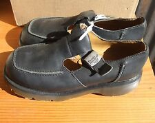 New Dr. Martens Made In England  Mary Janes UK 8/US 10 Woman's Black Shoe