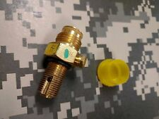 Paintball Replacement Pin Valve for CO2 tank complete w/cap Paintball Airsoft