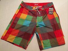 LOST ENTERPRISES BOARDSHORT SKEEP IT UNREAL ART COLLECTION 4 Way Strecth SIZE 32