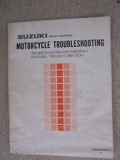 1985 Suzuki Motorcycle Troubleshooting Diagnosis Correction Service Manual  L
