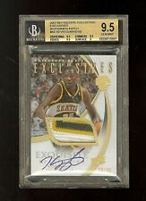 07-08 KEVIN DURANT UD EXQUISITE EXCLUSIVES AUTO PATCH RC /35 BGS 9.5/10
