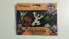 Disney Disneyland Paris Halloween Booster Set 4 Pins DLRP Pin Trading Goofy NEU