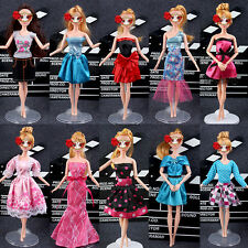9Pcs Beauty Party Dresses Handmade Dacing Clothes For 18 Inch American Girl Doll