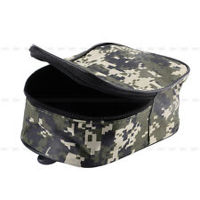 Portable Fishing Tackle Bag Pocket Pouch Outdoor Fishing Reel Canvas Waist Bag