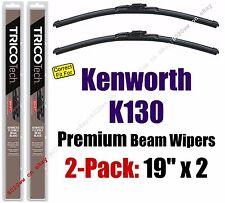 Wiper Blades 2-Pack Premium - fit 1987-1993 Kenworth K130 - 19190x2
