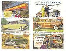 1940's - 50's Auto & Transportation Billboard signs HO Scale 172