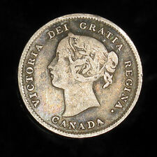 1899 Canada 5 cents silver