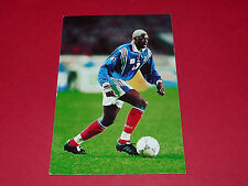 N°41 IBRAHIM BA PHOTO PANINI FRANCE 98 EN ROUTE POUR LA COUPE DU MONDE 1997