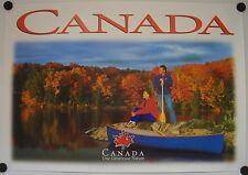 Affiche Tourisme CANADA Une Généreuse Nature
