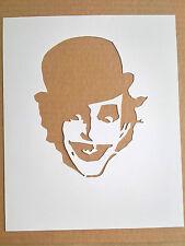 The Adicts Mr Hard cardboard Stencil, Clockwork Orange The Joker Droog Punk