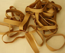 25 Rubber Bands by Sparco Size #84 - 3 1/2 x 1/2 - Strong, Large, Wide - New