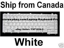 Toshiba Satellite L630 L630D L635 L635D L640 L640D L645 L645D Keyboard White US