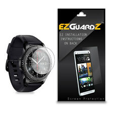 3X EZguardz NEW Screen Protector HD 3X For Samsung Gear S3 Classic Smartwatch