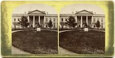Stereophoto. Washington, President's House, um 1880